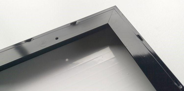 Construcción de paneles solares, cuadro de aluminio