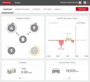 Mejores inversores 2019, monitoreo del sistema Fronius